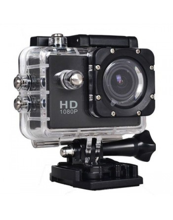 H.264 Sports Action HD Camera - Black