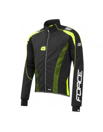 Force X72 Pro softshell jacket black/fluo