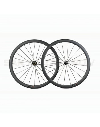 Novatec Carbon Clincher Wheelset - 38mm