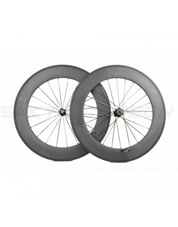Novatec Carbon Clincher Wheelset - 88mm