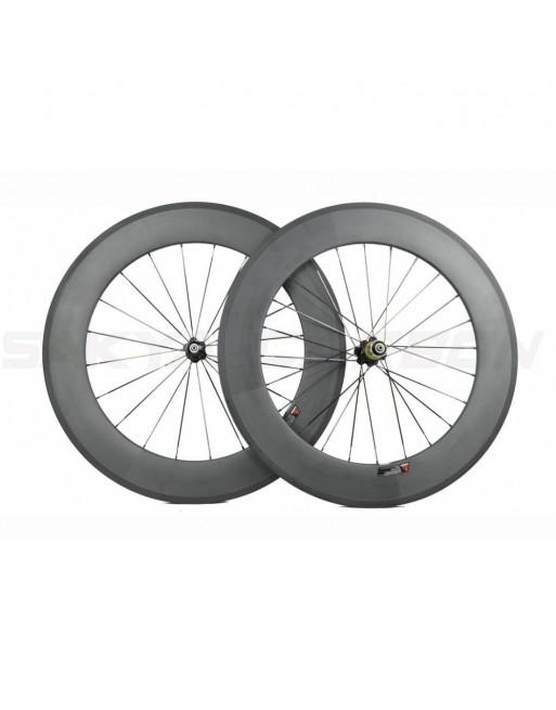 Novatec Carbon Clincher Wheelset - 88mm