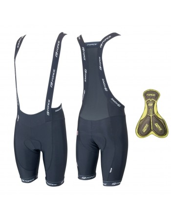 Force B40 Gel Padded Bib Shorts