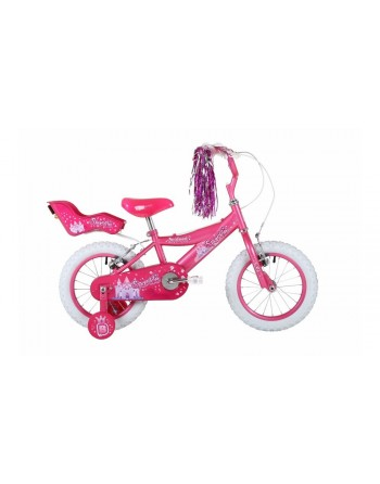 Bumper Sparkle Girls Bike - 12""
