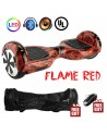 Flame Red Hoverboard With Bluetooth