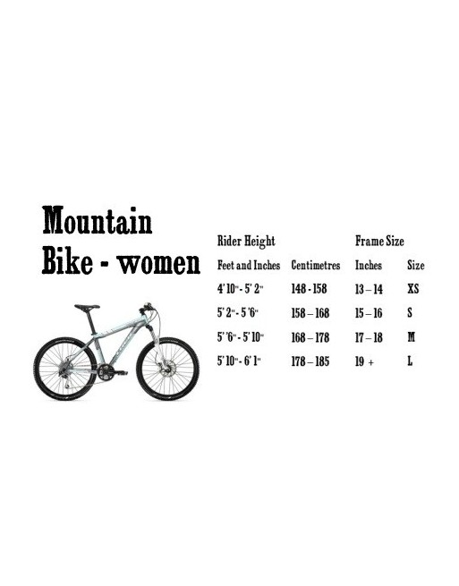 Mountain Bike Women