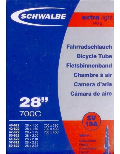 Schwalbe Extra Light Road Tube