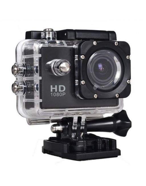 H.264 Sports Action HD Camera - Black