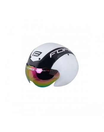 Force Globe TT Helmet - White