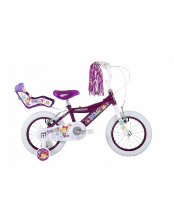 "Bumper Dolly 12"" Girls Bike"