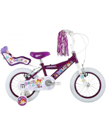 "Bumper Dolly 14"" Girls Bike"