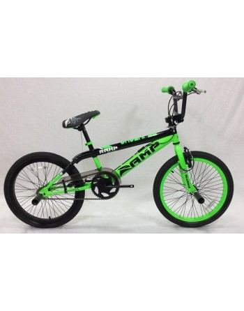 "Ramp Unleaded 20"" BMX Bike (Green)"