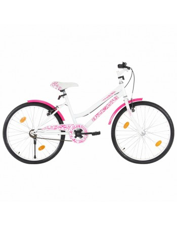 Kids Bike 24 inch Pink and...