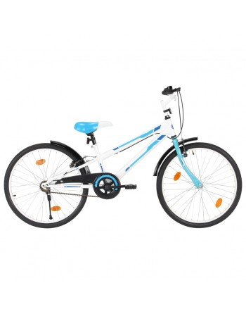 Kids Bike 24 inch Blue and...