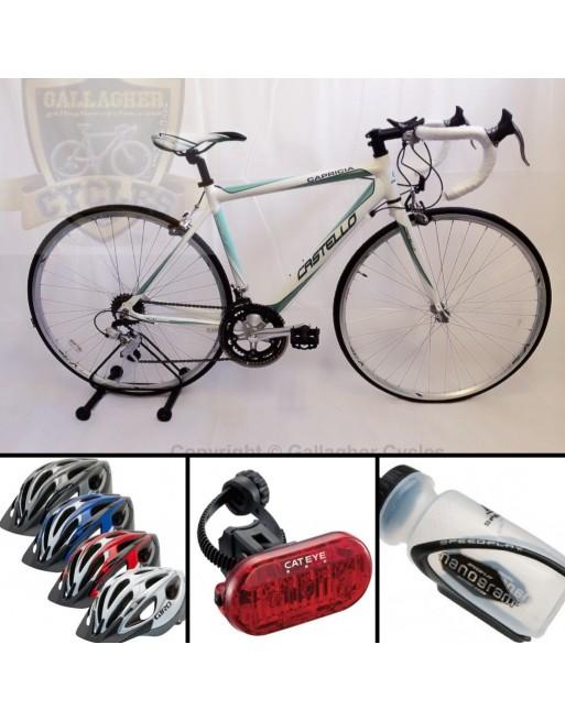 Castello Capricia ladies road bike package